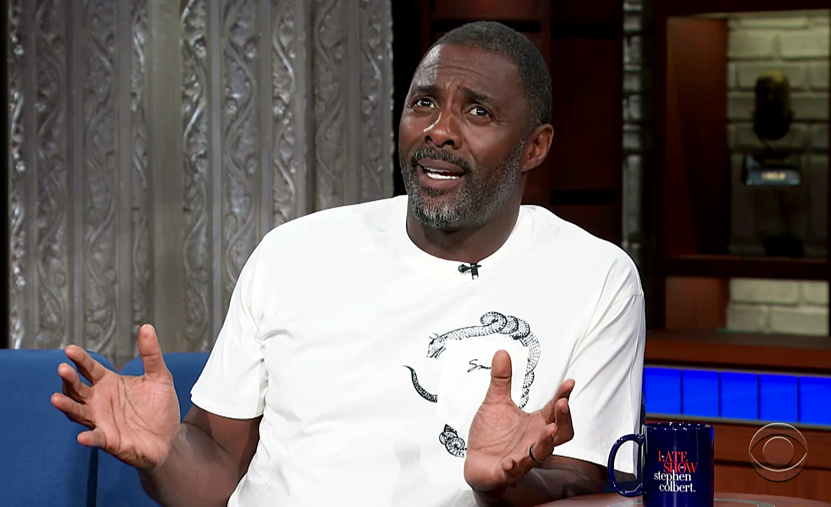 Cats Idris Elba Doesn't Know What the Musicals About - Idris Elba on 'The Late Show with Stephen Colbert'.