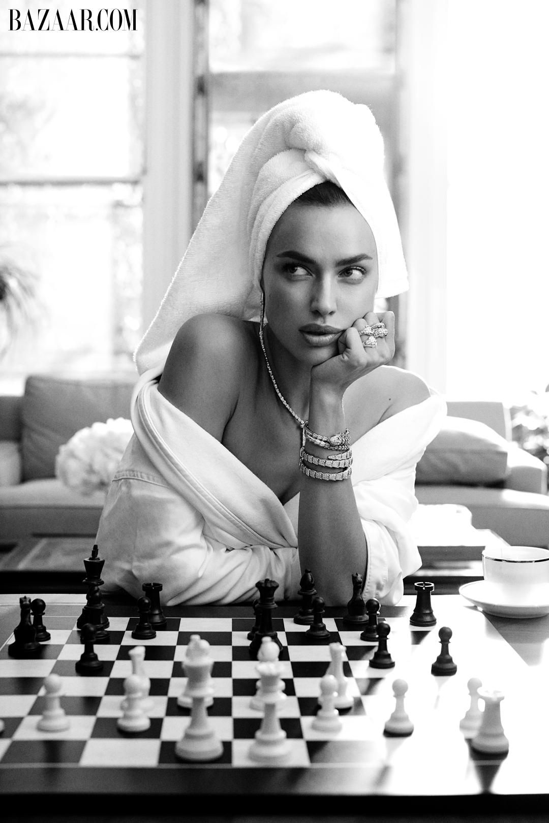 Irina-Shayk-talks-Motherhood-Harpers-Bazaar