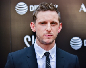 Jamie Bell Son Protective Newborn Sister