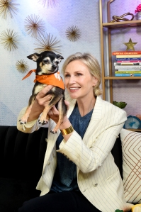 Jane Lynch is Just Like Us Lets Dogs Sleep In Bed