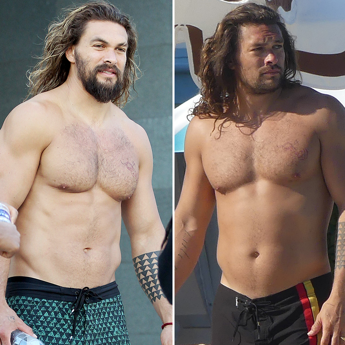 Jason Momoa Wanted His And Lisa Bonet S Wedding To Remain: Fans Rally Behind Jason Momoa After He's 'Dad Bod'-Shamed