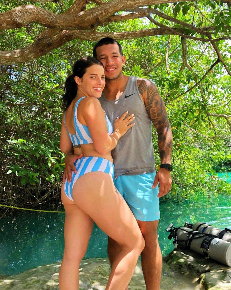 Javi Marroquin and Lauren Comeau Instagram Tulum Vacation