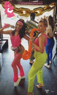 Jax Taylor Celebrates 40th Birthday at Epic '80s Party