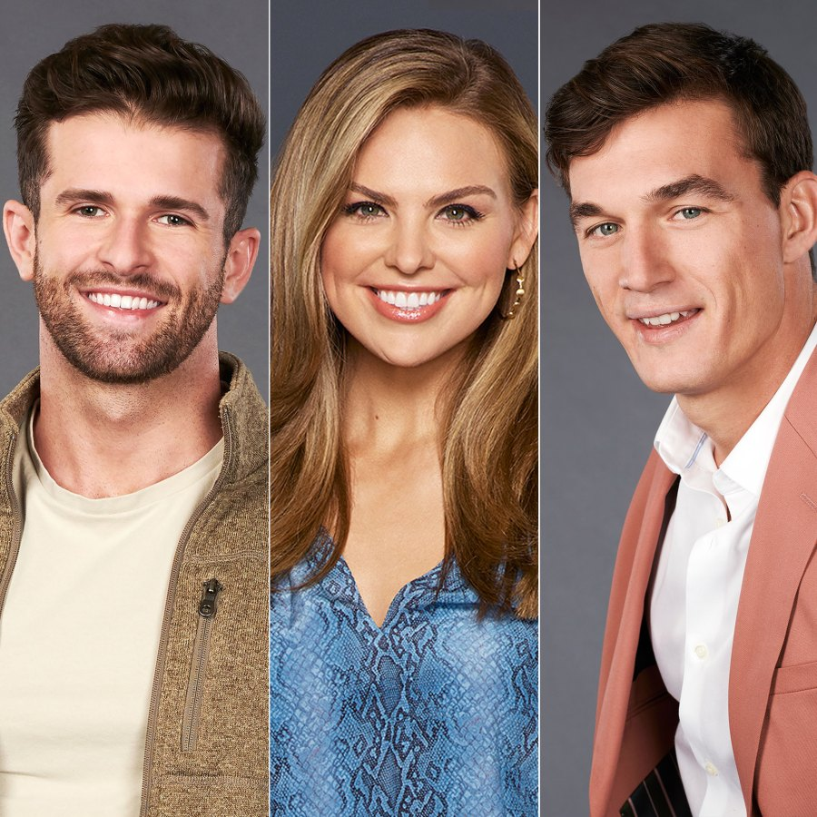 Jed Wyatt, Hannah Brown, Tyler Cameron The Bachelorette