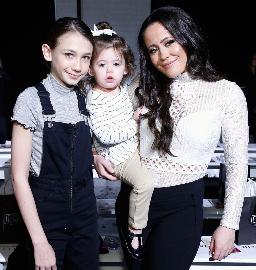 Maryssa Ensley and Jenelle Evans at attend the Indonesian Diversity FW19 Collections 2Madison Avenue Jenelle Evans and David Eason Call 911 After Hearing Daughter Ensley Screaming