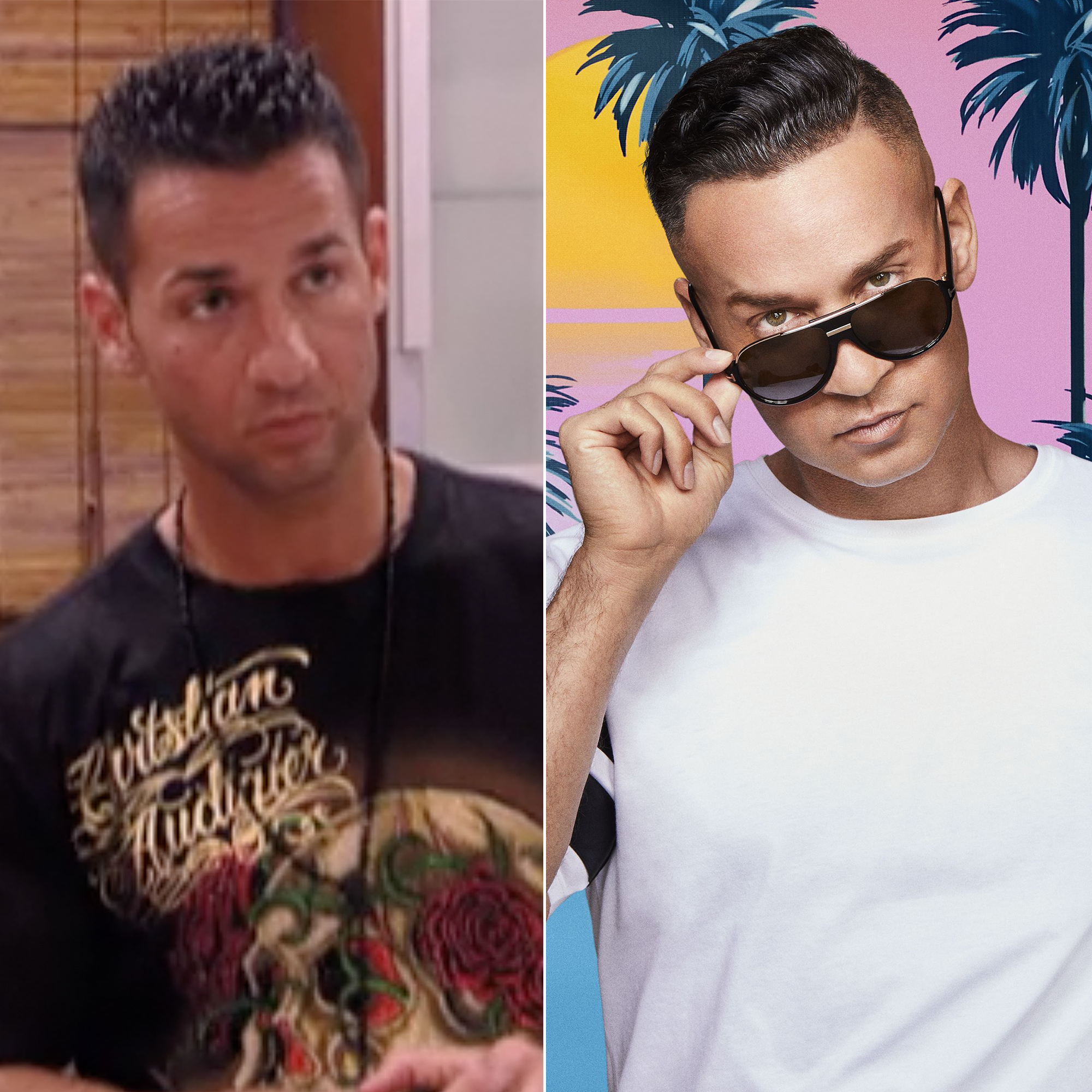 Jersey Shore' Cast, Then and Now