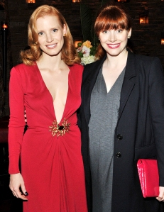 Jessica Chastain Ron Howard Once Mistook Me Daughter Bryce Dallas Howard