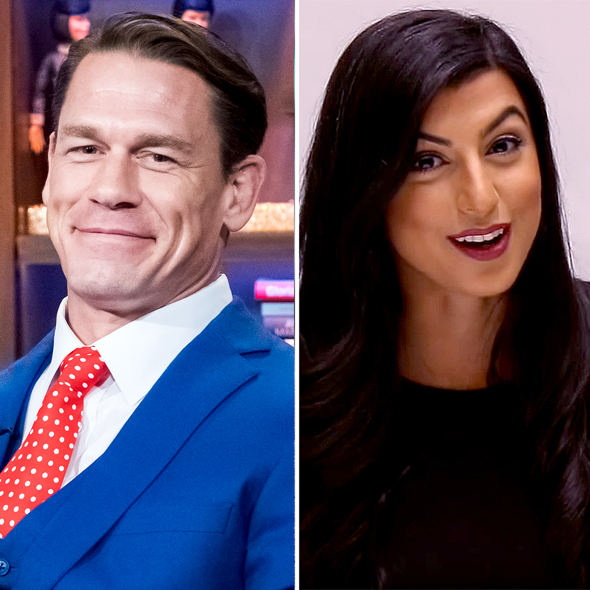 John-Cena-Attends-WWE-Raw-With-Shay-Shariatzadeh