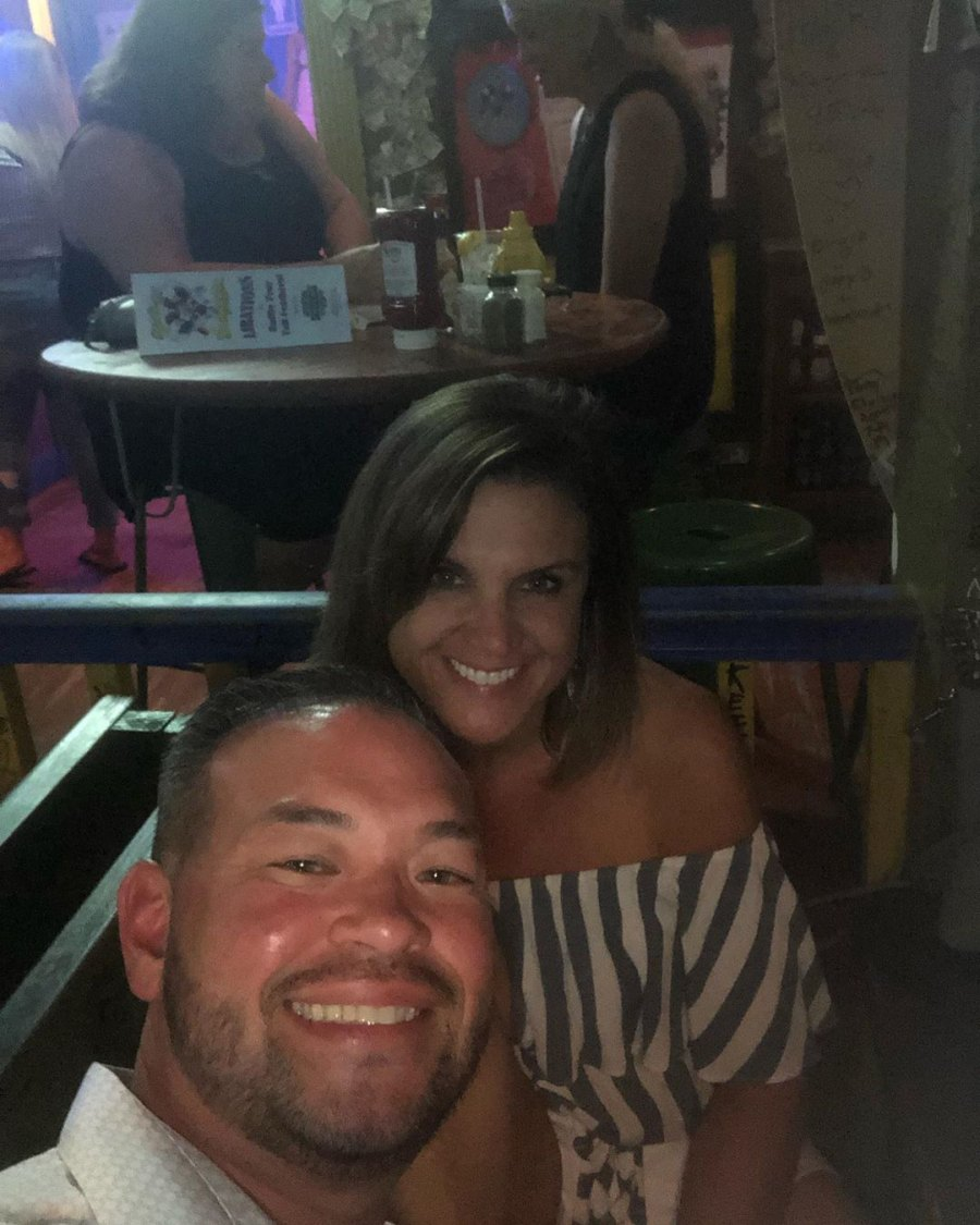 Jon Gosselin Beach with Colleen Conrad
