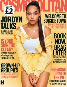 Jordyn Woods Cosmopolitan U.K. September 2019 Cover