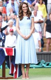 Kate Middleton Pale Blue Dress July 14, 2019