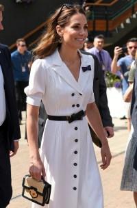 Kate Middleton Can't Stop Smiling at Wimbledon