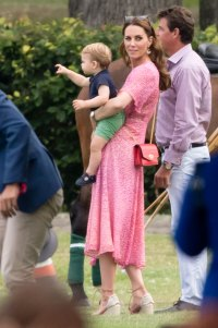 Prince William and Duchess Kate's Sweetest Moments With Their Kids Prince Louis charity polo match in July 2019