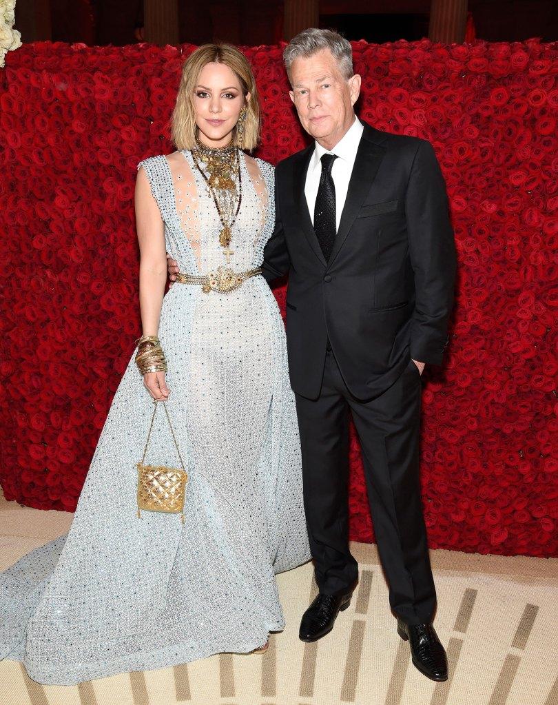 Katharine McPhee and Husband David Foster