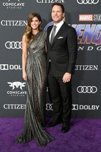 Katherine Schwarzenegger and Chris Pratt Attend Premiere Avengers- Endgame