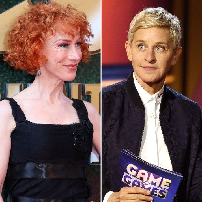 Kathy Griffin and Ellen DeGeneres Not Her Cup of Tea