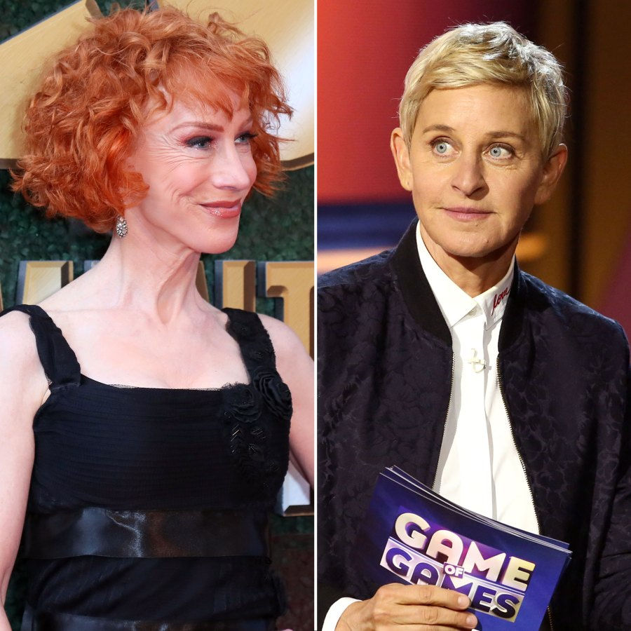 Kathy Griffin and Ellen DeGeneres Not Her Cup of Tea