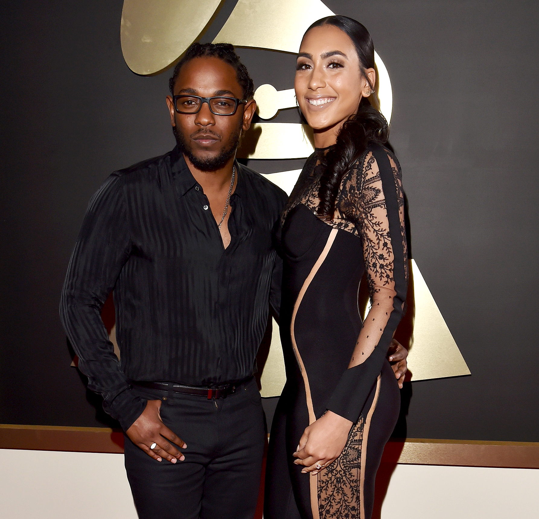 Kendrick-Lamar's-Fiancee-Whitney-Alford-Gives-Birth