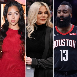 Khloe Kardashian Jordyn Woods Parties With James Harden