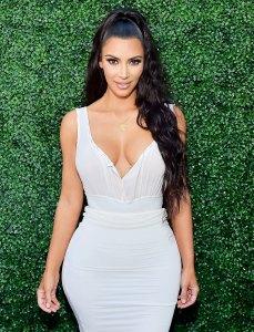Kim Kardashian White Dress June 30, 2018