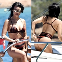Kourtney Kardashian Has Never Looked Better Than on This Yacht