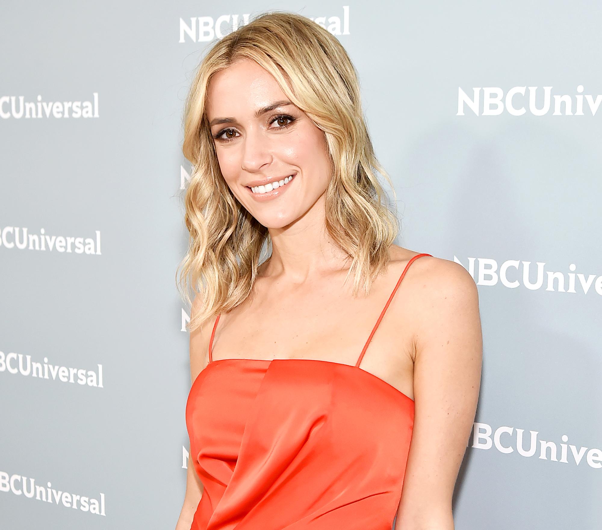 Kristin-Cavallari-NBC-upfront-orange-dress