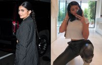 Kylie Jenner Hair Change Extensions to Lob