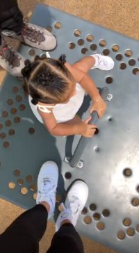 Kylie Jenner and Travis Scott Act Like Kids Again With Daughter Stormi at Playground