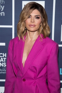 Lisa Rinna Pink Suit Eating Problem