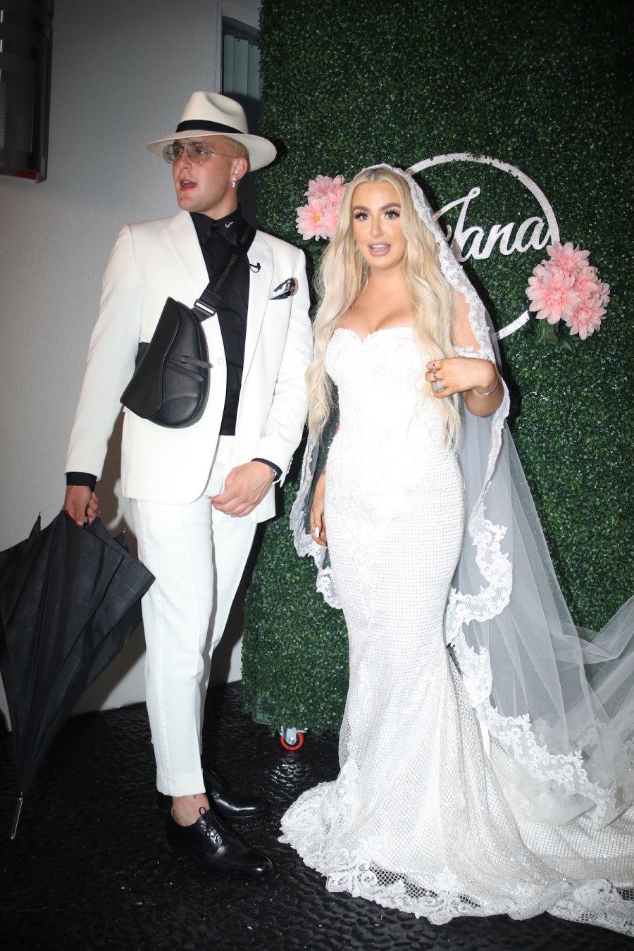 YouTubers Jake Paul Marries Tana Mongeau in Extravagant ...