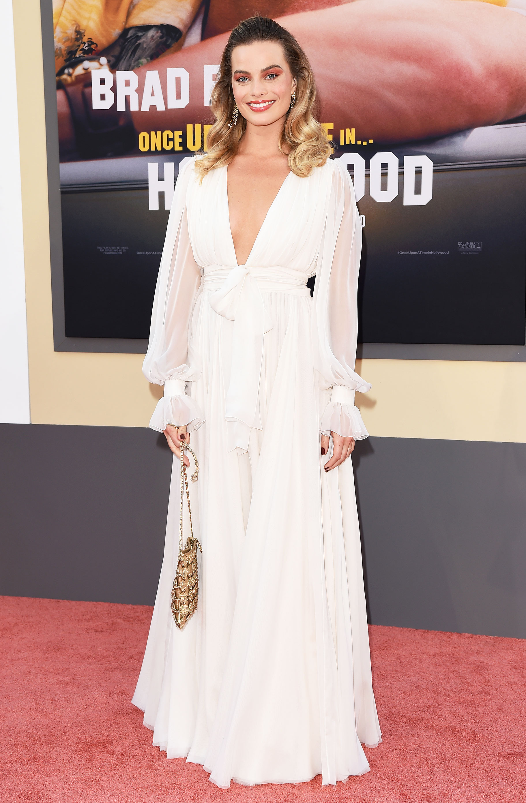 968ff3bada69b Once Upon a Time in Hollywood' Premiere Celeb Fashion