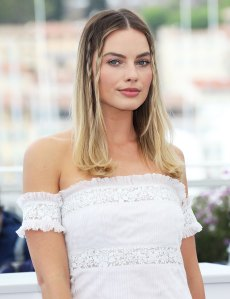 Margot Robbie Braids Cannes May 22, 2019