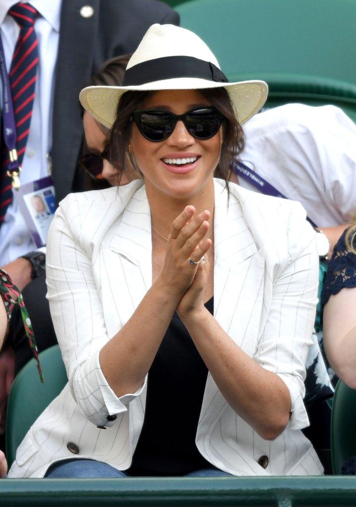 Meghan Markle 2019 Wimbledon