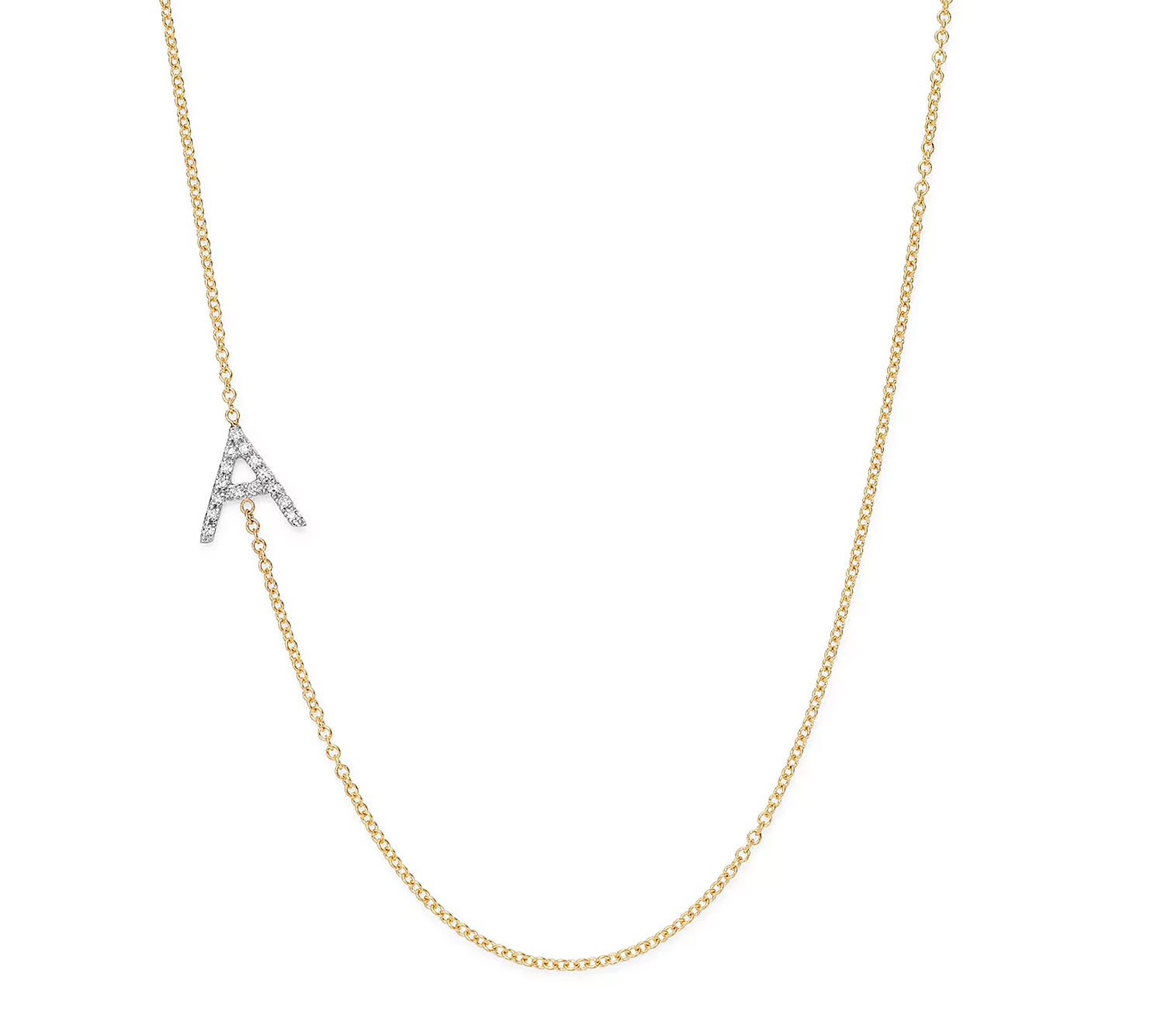 4b9f8839429592 Meghan Markle-Inspired Initial Necklaces Like Her 'A' Archie Charm
