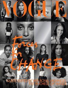 Meghan Markle Co-Edits British Vogue