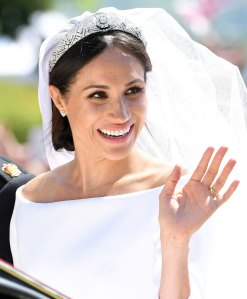 Meghan Markle Wedding Day Freckles