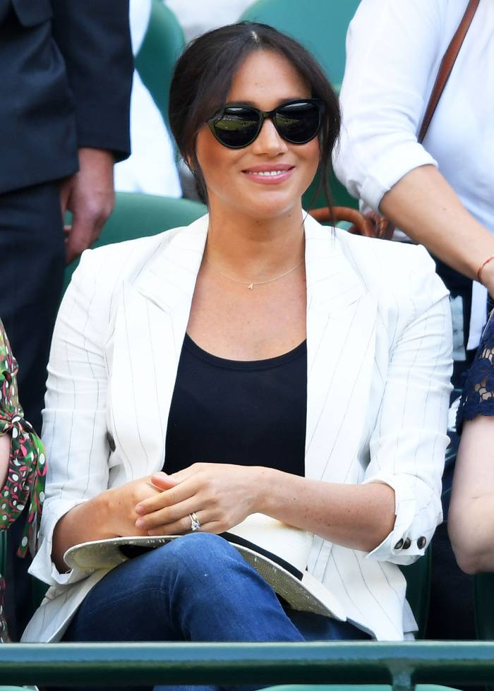 Meghan Markle Wimbledon July 4, 2019
