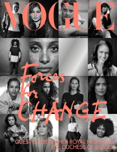 Michelle Obama Meghan Markle Vogue UK Interview
