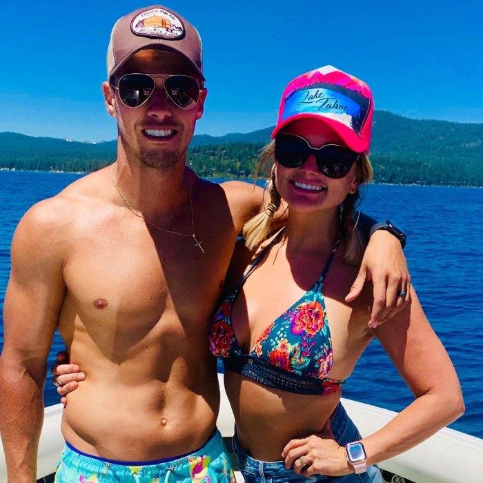Miranda Lambert Wears Bikini With Husband Brendan McLoughlin in Lake Tahoe