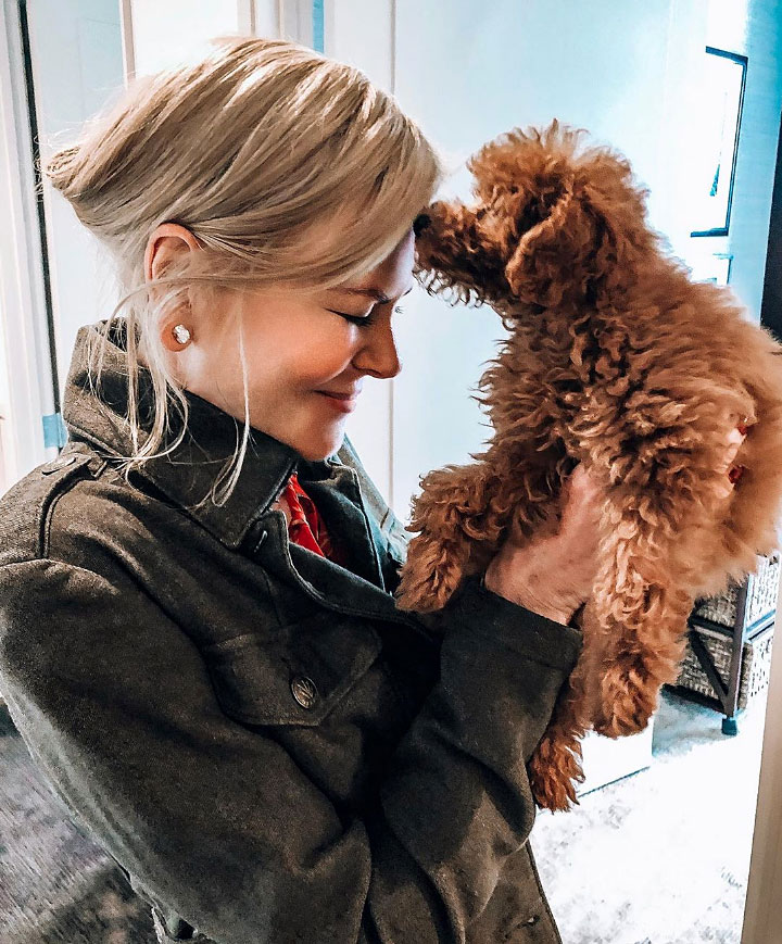 Nicole Kidman First Dog