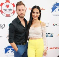 Nikki Bella Says Boyfriend Artem Chigvintsev Has Baby Fever 9th Annual Variety The Children's Charity Poker And Casino Night