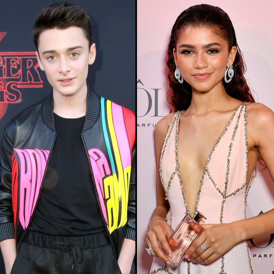 Noah Schnapp and Zendaya Stars and Their Celebrity Crushes