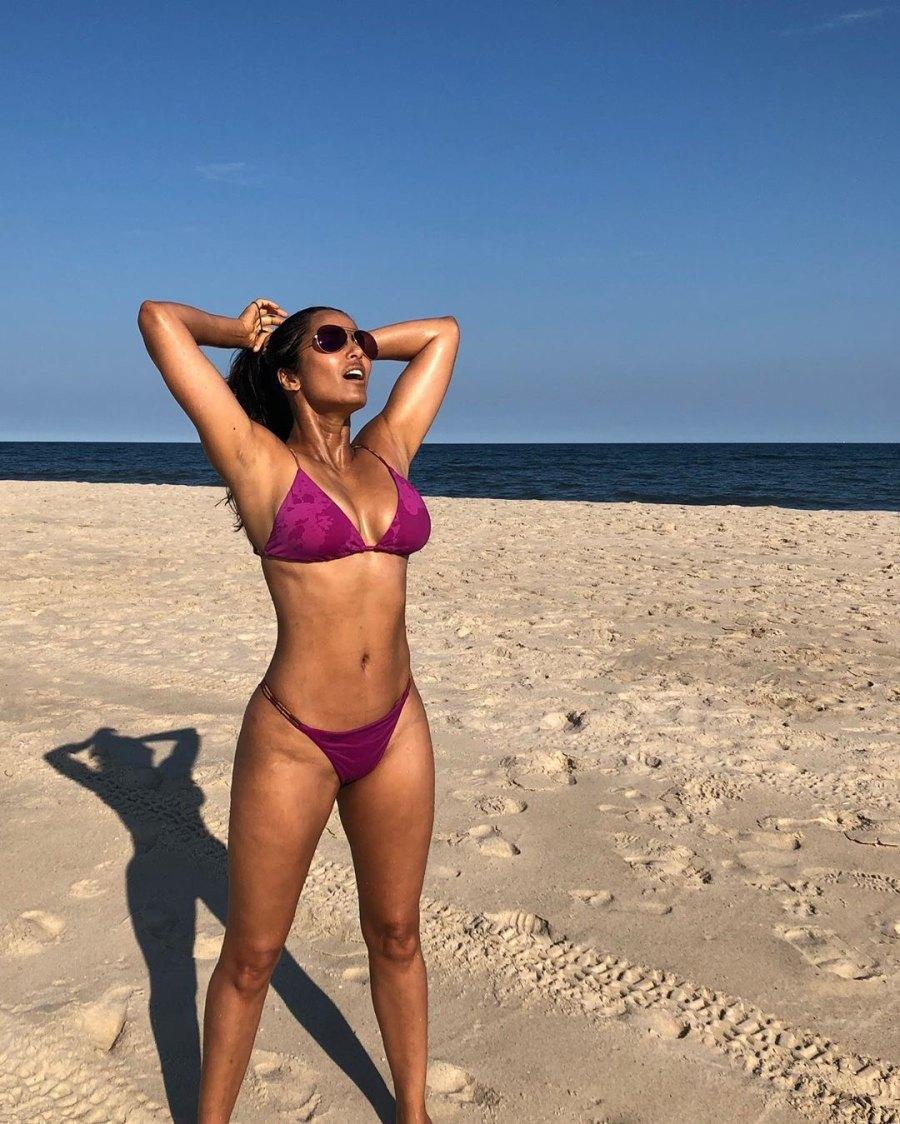 Padma Lakshmi Over 40 Beach