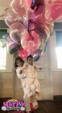 Penelope's Birthday Tributes Khloe Kardashian