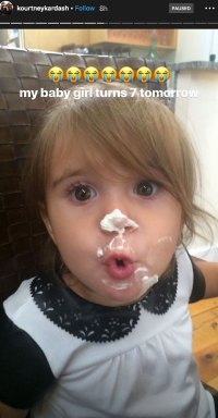 Penelope Disick Birthday Turning 7