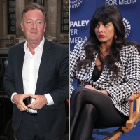 Piers Morgan and Jameela Jamil