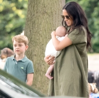 Prince-George-Duchess-Meghan-polo-match