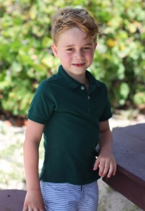 Prince Harry Duchess Meghan Wish Prince George Love Birthday