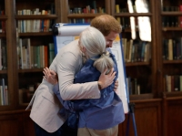Prince Harry Shares Sweet Dance With Jane Goodall