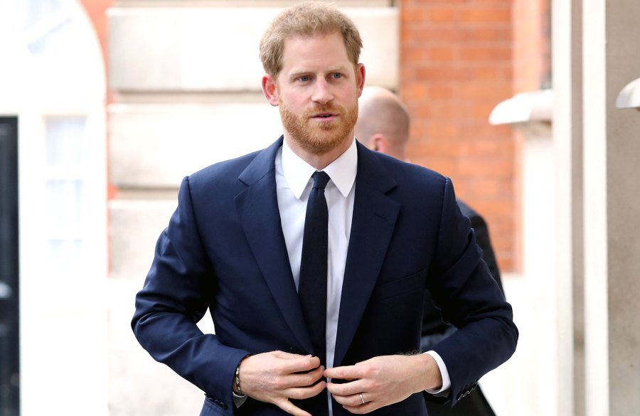 Prince Harry Wants to Be a Good Role Model for Son Archie 70th anniversary of the Commonwealth at Marlborough House Navy Suit